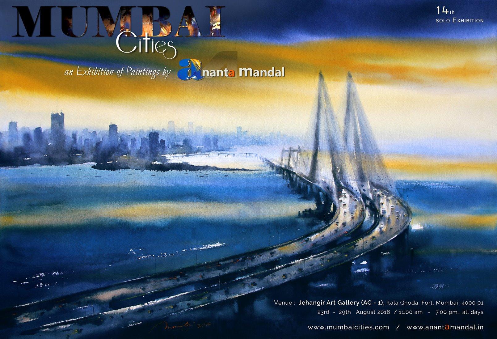 Bandra-Worli-Sea-Link-ananta-mandal-painting-2016