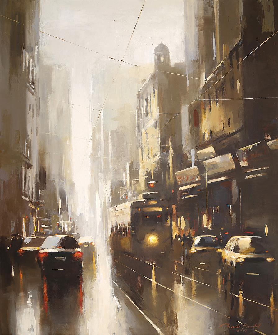 Kolkata-Winter-44x36-ananta-mandal-jehangir-art-gallery-mumbai-exhibition