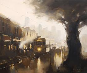 After-Light-Kolkata-painting-by-ananta-mandal