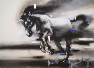 horse-paintings-by-indian-artist-ananta-mandal