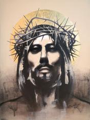 Jesus-Christ-painting-by-ananta-mandal