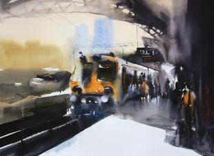 Mumbai-Railway-painting