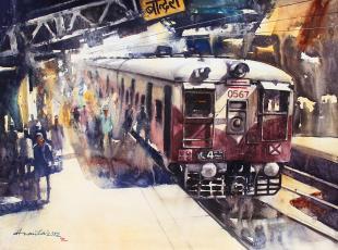 mumbai-painting-by-ananta-mandal