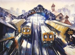 Mumbai art, mumbai artist, mumbai painting