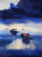 kashmir-painting-by-ananta-mandal