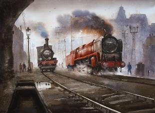 railway-paintings-by-ananta-mandal