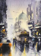 kolkata-painting-by-ananta-mandal