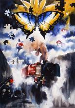 surrealistic-painting-by-ananta-mandal