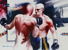 boxing-painting-by-ananta-mandal