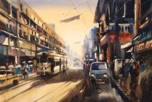 kolkata-watercolor-painting-by-ananta-mandal