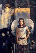 girl-painting-ananta-mandal