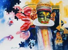kathakal | kathakali-painting
